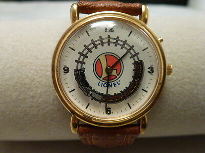 LIONEL TRAIN WRIST WATCH  excellent cond .