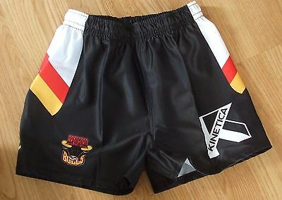 Bnwt Isc  Bradford Bulls Boys Official Rugby League Home Shorts Age 14