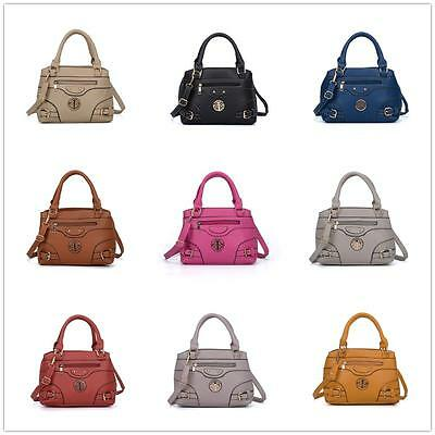 WHOLESALE Joblot Of 10 Ladies Faux Leather Handbags Designer Inspired Badge Bags