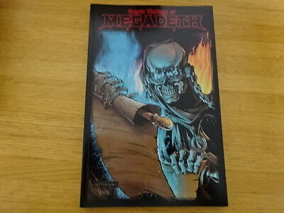 Rare Copy Of Cryptic Writings Of Megadeth Trade Paperback Graphic Novel!