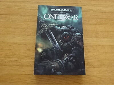 Rare Copy Of Warhammer 40,000: Only War Trade Paperback Graphic Novel!