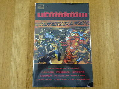 Rare Copy Of March On Ultimatum Hard Cover Graphic Novel! Marvel!