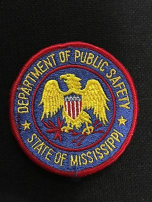 State Of Mississippi Dept Of Public Safety  Shoulder Patch    Old
