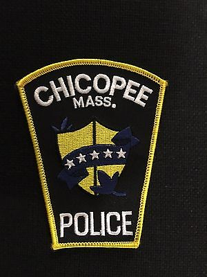 Chicopee  Massachusetts Police  Shoulder Patch