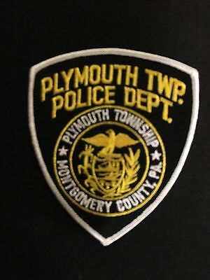 Plymouth  Massachusetts  Police  Shoulder Patch