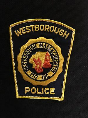 Westborough  Massachusetts  Police  Shoulder Patch
