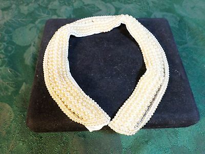 Beautiful Vintage Simulated Pearl Designed Collar-Free Shipping