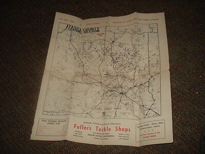 mn travel Itasca County Fullers Tackle Shop Grand Rapids MN Lazy Ike ad fishing