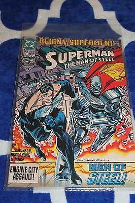 Vintage Superman Reign of the Supermen #29 Oct 1993 DC Comic Book FREE SHIP
