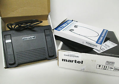 Martel All N One Digital Transcription Kit with Foot Pedal Infinity IN-USB-1