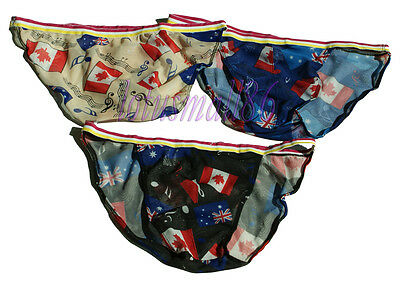 "30pcs Men's sex Bikinis Pants waist 28""-36""  briefs PANTIES New  #6321"