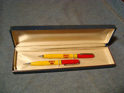 Shell Gas, Pencil, Pen Set, Holbrook Truck Terminal