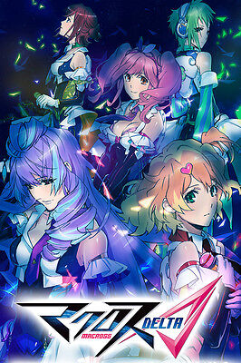 Macross Delta Walkure Team Poster 12inchesx18inches Free Shipping