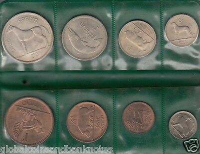 1966 Coinage Of Ireland -  (8) Coin Uncirculated Set