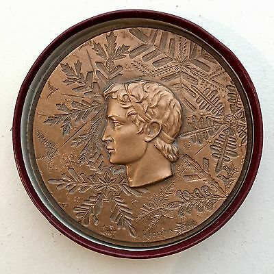 Médaille Participation Jeux Olympiques Grenoble 1968 Medal Olympic Games Bronze