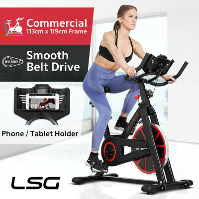 NEW Spin Exercise Bike - Flywheel Fitness Commercial Exercise Home Workout Gym
