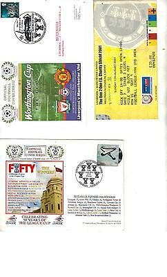 DAWN COVER & INSERT - LIVERPOOL v MANCHESTER UNITED - 2003 WORTHINGTON CUP FINAL