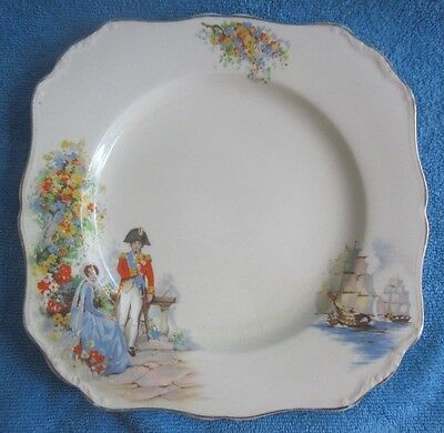 vintage J & G MEAKIN Nelson 21.3cm square PLATE