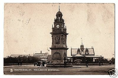 HRM 1905 Postcard, Wouldhave Memorial (RNLI), South Shields, Co. Durham