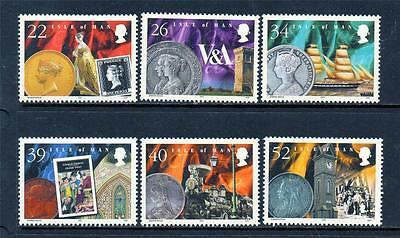 Isle Of Man Mnh 2001 Sg917-922 Death Centenary Of Queen Victoria