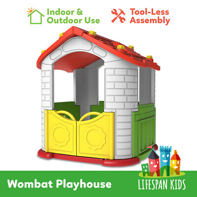 NEW Cubby House Kids Indoor Outdoor Wombat Playhouse
