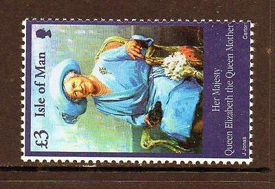 Isle Of Man Mnh 2002 Sg982 The Queen Mother