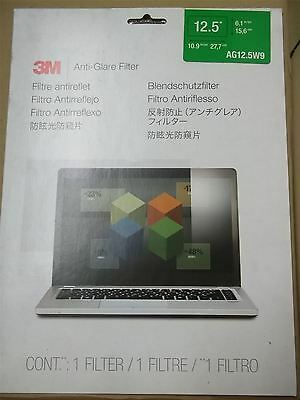 3M AG12.5W9 Anti-Glare Filter for 12.5-Inch Widescreen Laptop