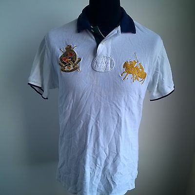 County Riders Polo Shirt #2 Ralph Lauren Jersey Size Adult L