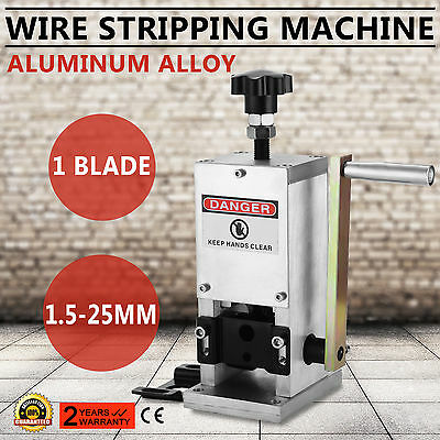 Cable Wire Stripping Machine Copper Stripping Cable Stripper 1.5-25mm POPULAR