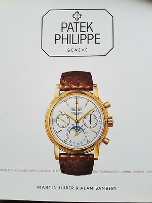 Patek Philippe Geneve Wristwatch Book 1988 by Martin HUBER and Alan BANBERY