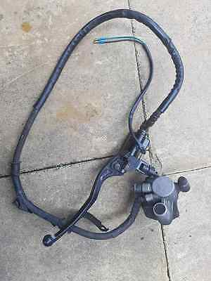 Sinnis Harrier 125Cc 2015 Front Brake Caliper And Lever