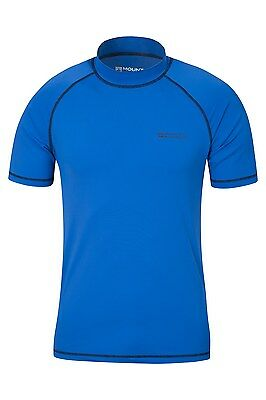 Mountain Warehouse Rash T-Shirt Tee Shirt Manche Courte Homme Protection UV Sole