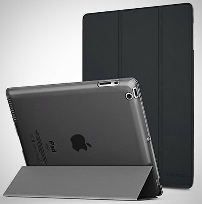 MoKo Case for iPad 2 / 3 / 4 Ultra Slim Lightweight Smart Shell Stand Cover New