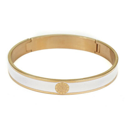 Dyrberg Kern Pennika White & Rose Gold Womens Metal Bracelet Bangle