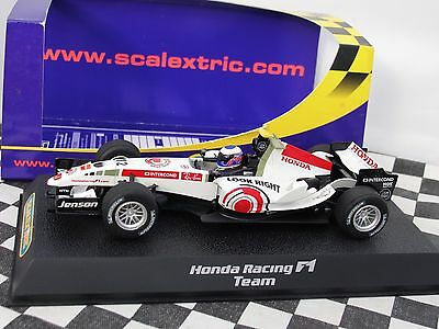 Scalextric Honda F1 White   #12  C2715  1.32 New Old Stock Boxed
