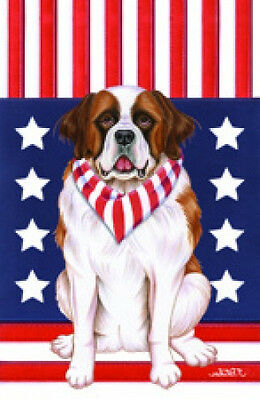 Large Indoor/Outdoor Patriot (TP) Flag - Saint Bernard 75058