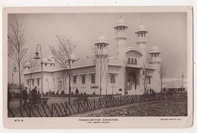 The Indian Palace, Franco British Exhibition RP Postcard, B724