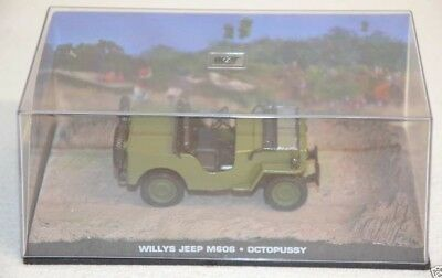 Nr. 46 James Bond 007 Modellauto Collection - Willys Jeep M606 -1:43 ohne Heft