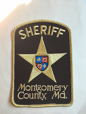 Montgomery  County  Maryland  Sheriff  Shoulder Patch