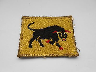 11th armoured division Italian made    cloth formation sign military unit patch