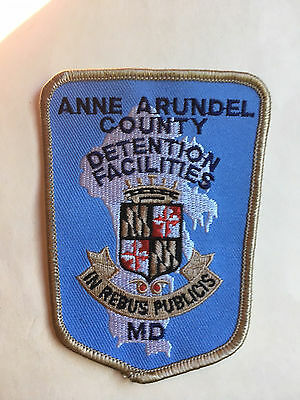 Anne Arundel  County  Maryland  Detention Facilities  Shoulder Patch