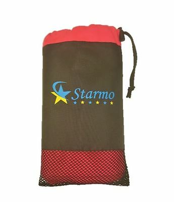 Starmo Pink Quick Dry Sports Travel Microfibre Towel Lightweigt Absorbent Large