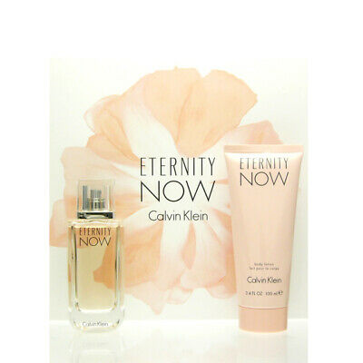 Calvin Klein Eternity Now for her Set Eau de Parfum EDP 50 ml + BL 100 ml NEU