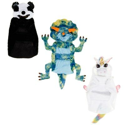 Novelty Pet Dog Fancy Dress Party Costume Panda Dinosaur Unicorn Dress Up Fun