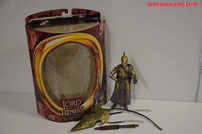20 ) Toy Biz Lord of The Rings Prologue Elven Warriors - Elfenrüstung in OVP  #