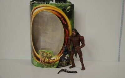 8 ) Toy Biz Lord of The Rings The Fellowship of the Ring -Newborn Lurtz in OVP #