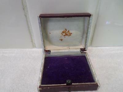 Vintage Jewellery Box. Antique Jewelry Case. Old Jewellers Box. Many For Sale