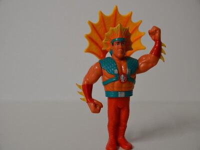 09 ) WWF Ricky the Dragon Steamboat  Wrestling Figur #