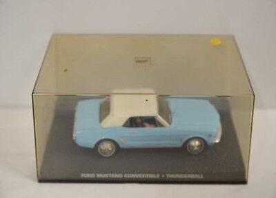Nr. 30 James Bond 007 Modellauto Collection -  Ford Mustang 1:43 Box ohne Heft
