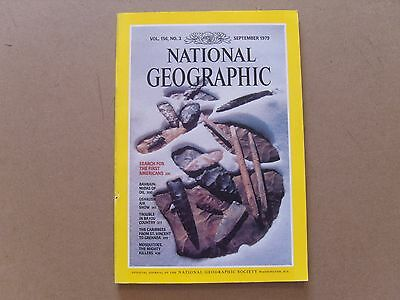 National Geographic Magazine - September 1979 - See Images For Contents